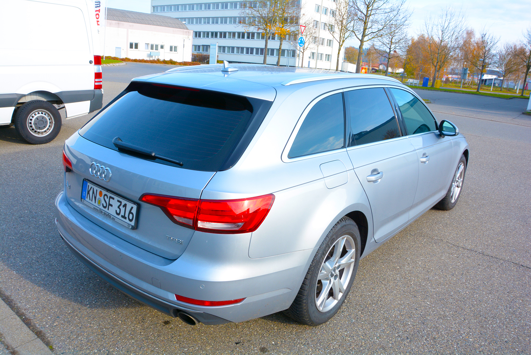 Autoscheiben tönen 15 Audi A4 2016
